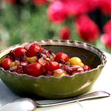Roasted Onion and Cherry-Tomato Compote