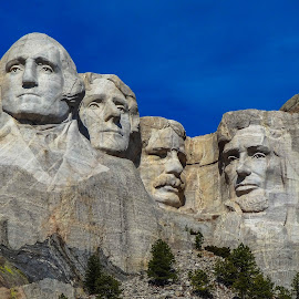 Mount Rushmore by Steven Titla - Buildings & Architecture Statues & Monuments
