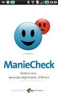 Screenshot of ManieCheck