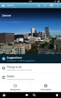 Screenshot of Denver Travel Guide