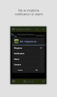 Screenshot of Notification Ringtones