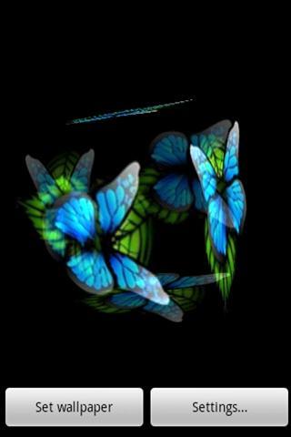 玩益智App|3D 青い蝶2免費|APP試玩