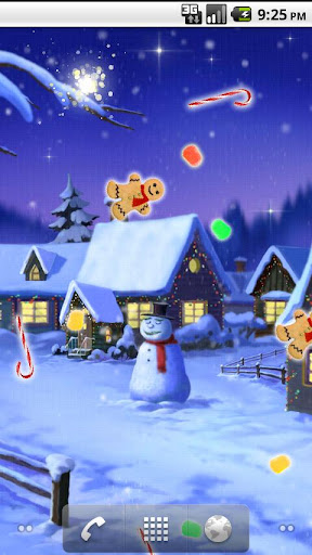 Sweet Winter Dreams Wallpaper
