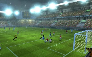 Screenshot of Striker Soccer 2