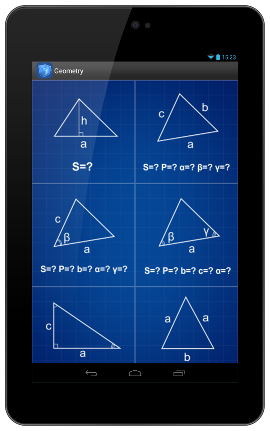 Geometry Calculator Screenshot 17