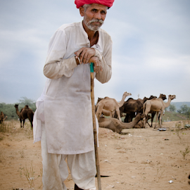 by Ravindra Tanwar - People Portraits of Men