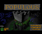Past Masters: Populous - God made Man