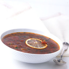 Moroccan-Spiced Cold Tomato Soup