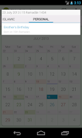 Screenshot of Shia Calendar