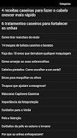 Screenshot of Dicas de Beleza