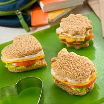 Turkey Finger Sandwiches