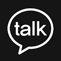 Black kakaotalkTheme BlackCHIC icon