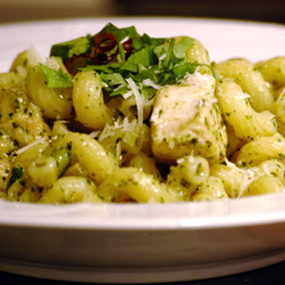 Teena's Spicy Pesto Chicken and Pasta