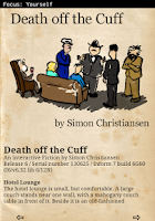 Screenshot of Death off the Cuff