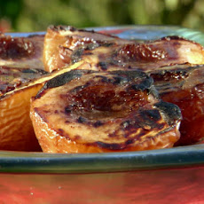 Grilled Peaches with Cinnamon Sugar Butter