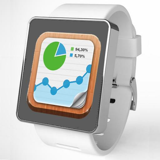 Glance Analytics Watch Face