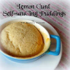 Lemon Curd Self Saucing Pudding