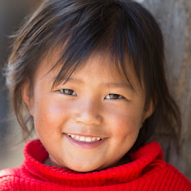 Naggi by Richard Duerksen - Babies & Children Child Portraits ( india, nagaland )