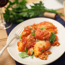 Stuffed Shells with Spinach Ricotta