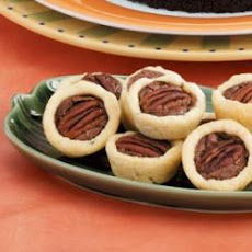 Fudgy Pecan Tartlets
