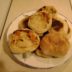 Honey Bran English Muffins (Bread Machine)