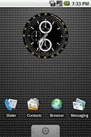 Screenshot of Tachymetre Clock Widget 2x2