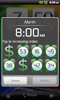 Screenshot of Time Is Money: Alarm Clock
