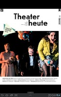 Screenshot of Theater heute