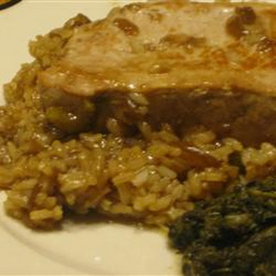 Pork Chops and French Onion Rice