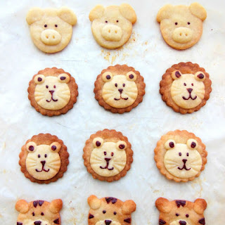 March Break Special-Animal Shortbread Cookies [Recipe]