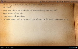Screenshot of KnowledgeBook: Cooking