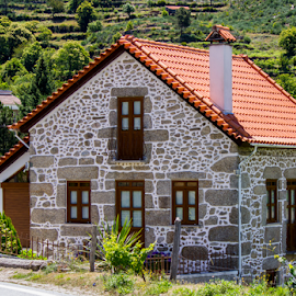 Typical House by Rui Vila Nova - Buildings & Architecture Homes ( hose, mountain, stone )