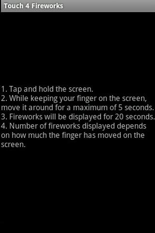 Touch 4 Fireworks