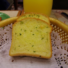 Pan Toasted Garlic Bread