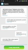 Screenshot of Zapytaj