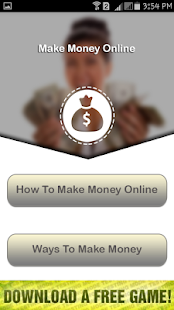 Ways To Make Money - screenshot