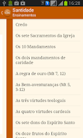Screenshot of Santidade