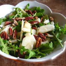 Arugula, Pear and Parmesan Salad