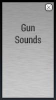Screenshot of Gun Shot Sounds