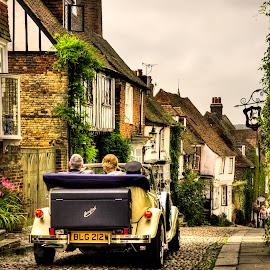 Wedding Car Rye by Don Alexander Lumsden - City,  Street & Park  Street Scenes