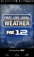 Screenshot of Fox 12 Wx
