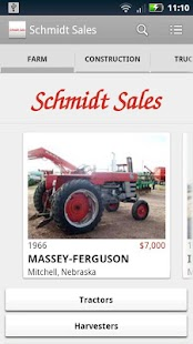 Schmidt Sales - screenshot