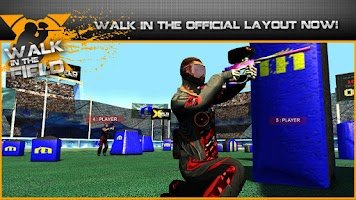 Screenshot of Walk in the Field - Paintball
