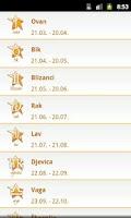 Screenshot of Dnevni Horoskop