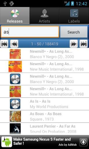 玩音樂App|Discogs Explorer免費|APP試玩