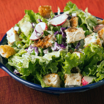 Crispy Chicken Chopped Salad