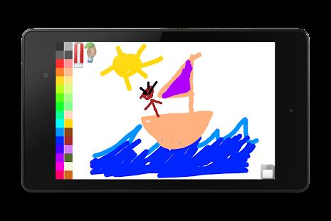 Blackboard for toddlers FREE- screenshot thumbnail