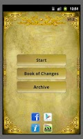 Screenshot of I Ching reading Book of Change