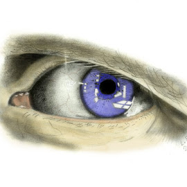 The eye by Lone Rok - Drawing All Drawing ( pencil, colour, paper, hobby, fun, drawing )