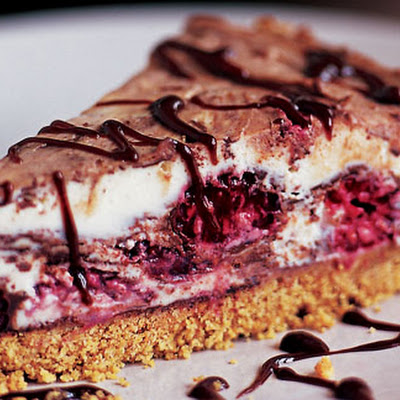Raspberry And Milk Chocolate Cheesecake